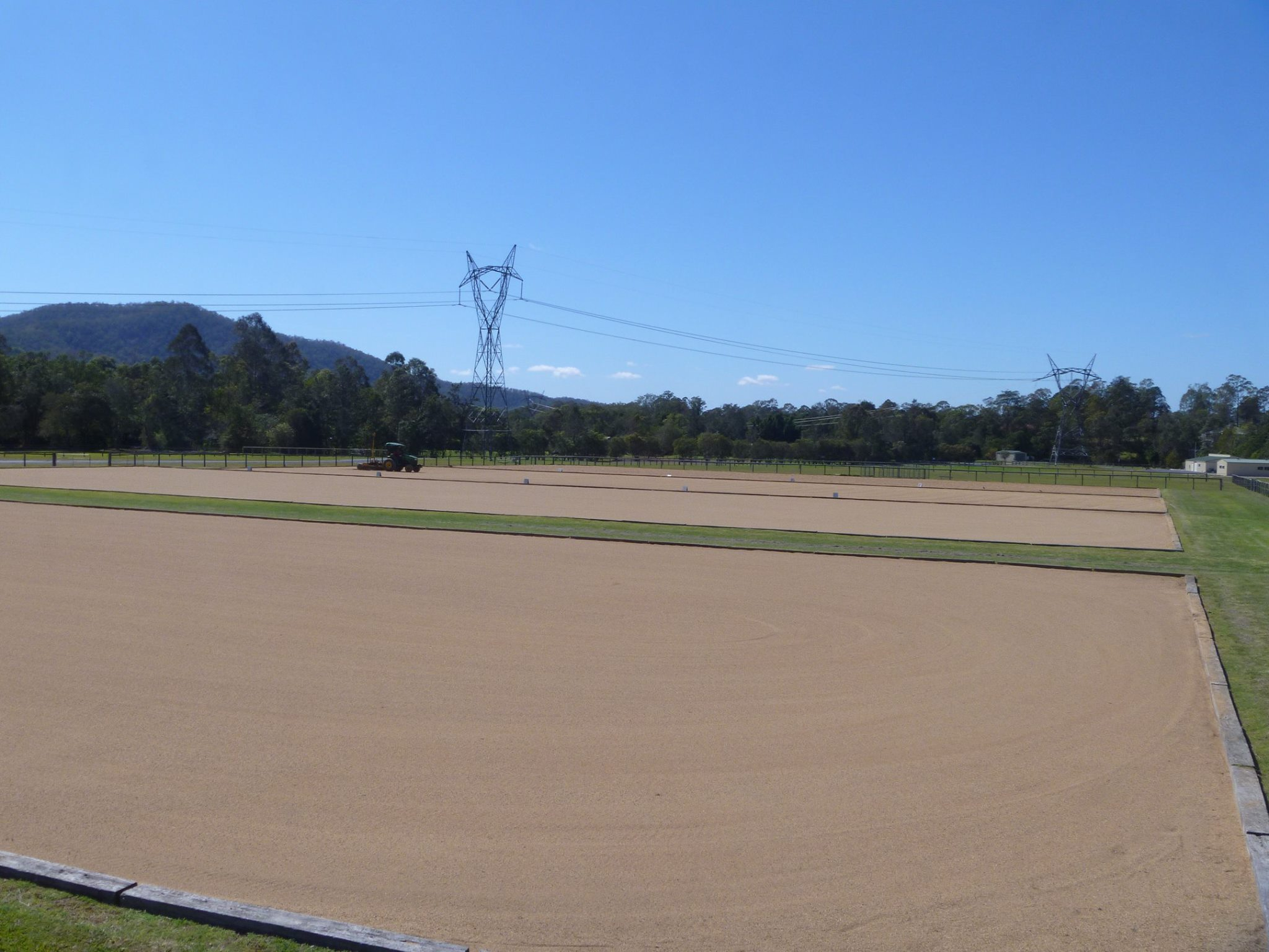 Samford Equestrian Group, Samford, QLD. Four 30m x 70m Competition Arenas